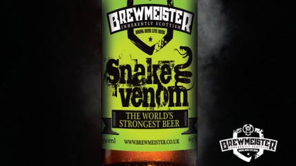 The strongest beer in the world: Snake Venom