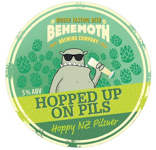 Behemoth Brewing launches 'Hopped up on Pils' craft beer