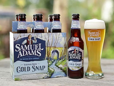 Samuel Adams unleashes new Cold Snap seasonal craft beer