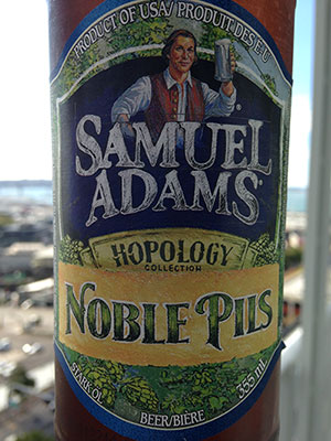 Craft beer review: Samuel Adams' Noble Pils