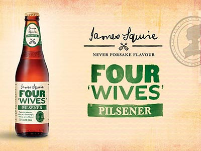 Craft beer review: James Squire Four Wives Pilsener