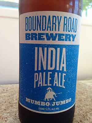 Craft beer review: Boundary Road Mumbo Jumbo