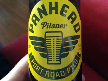 Panhead Port Road Pilsner craft beer review