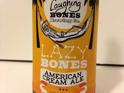 Lazy Bones American Cream Ale review