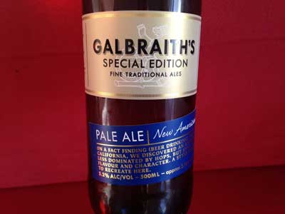 Galbraith's New American Style Pale Ale review