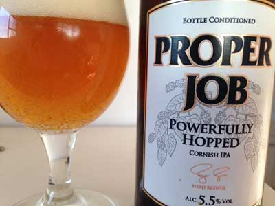 Proper Job IPA beer review