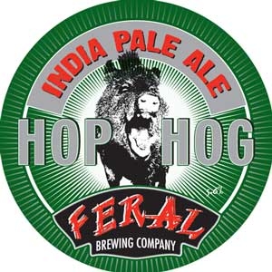Feral Hop Hog IPA craft beer review