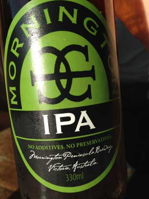 Mornington IPA craft beer review