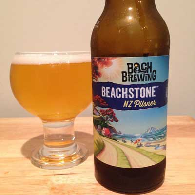 Bach Brewing Beachstone Pilsner review