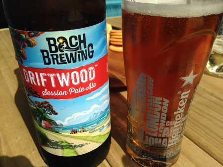 Bach Brewing Driftwood Session Pale Ale review