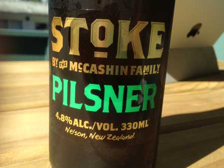 Stoke Pilsner craft beer review