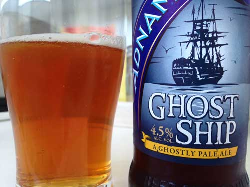 Adnams Ghost Ship beer review