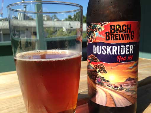 Bach Brewing Duskrider Red IPA review