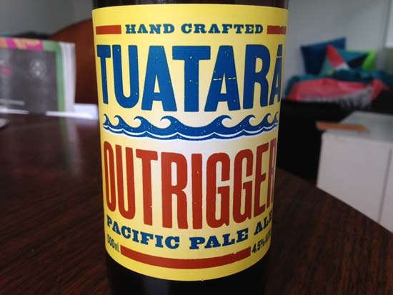 Tuatara Outrigger Pacific Pale Ale review