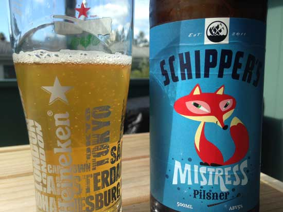 Schipper's Mistress Pilsner review