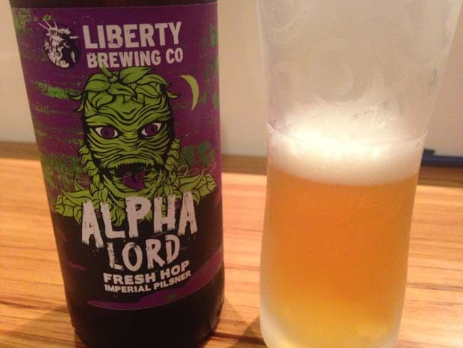 Liberty Brewing Alpha Lord Fresh Hop Imperial Pilsner