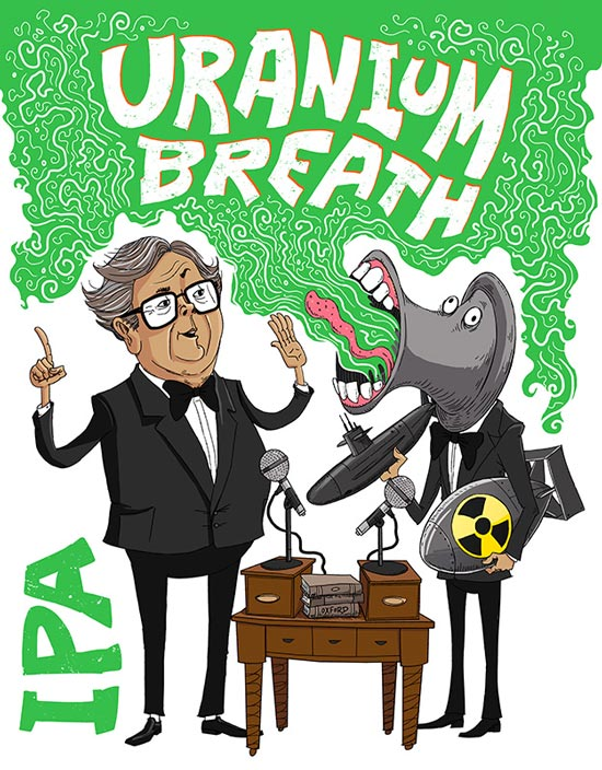 Mash Palace Uranium Breath IPA review