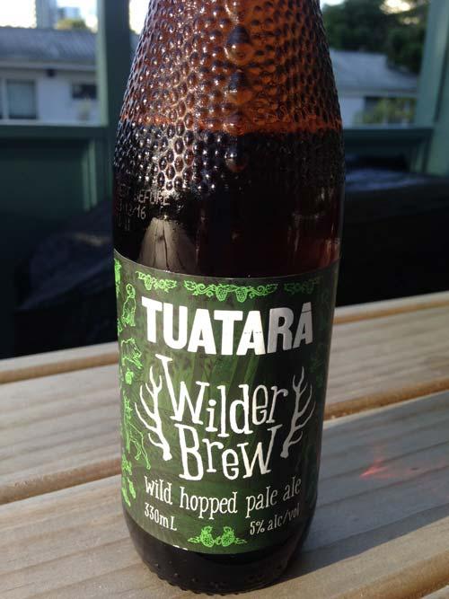 Tuatara Wilder Brew wild hopped pale ale review