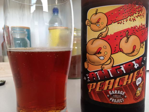 Garage Project Angry Peaches beer review