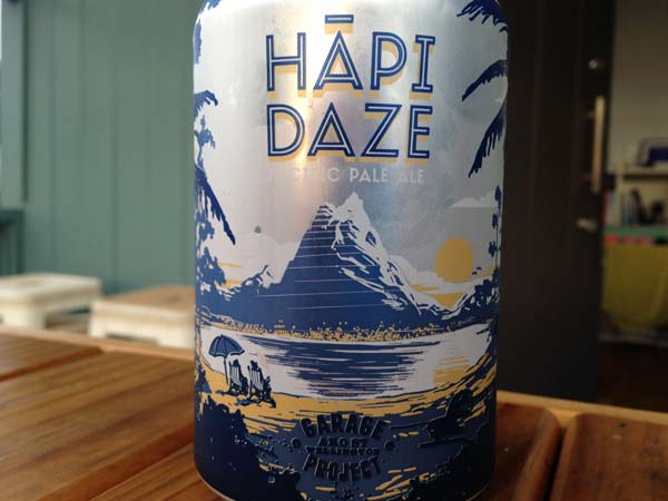 Garage Project Hapi Daze Beer Review