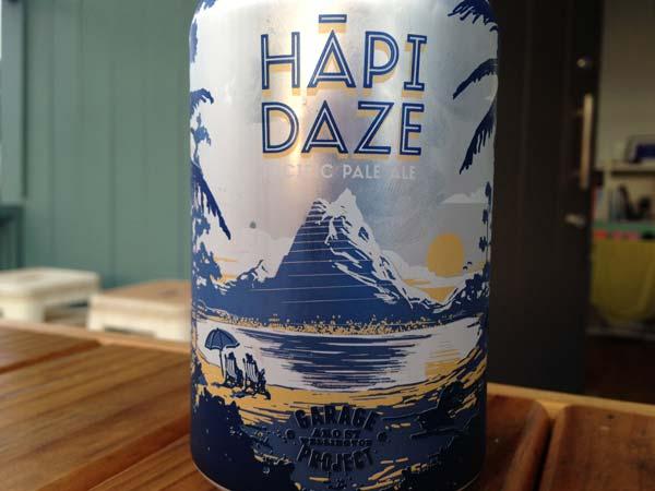 Garage Project Hapi Daze Beer Review