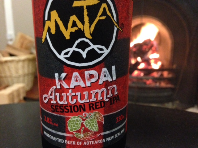 Mata Kapai Autumn Session Red IPA Review