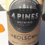 4 Pines Brewing Kolsch Aussie Beer Review