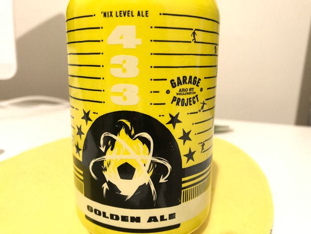 Garage Project 433 craft beer review