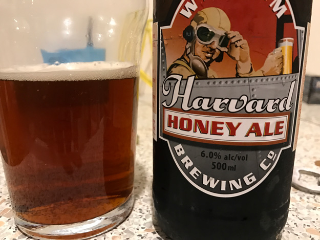 Wigram Harvard Honey Ale review