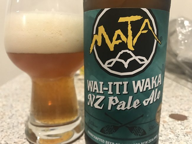 Mata Wai-iti Waka NZ Pale Ale Review