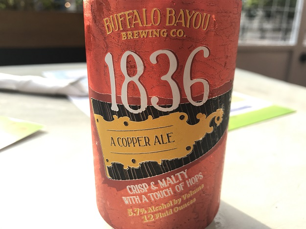Buffalo Bayou 1836 Copper Ale Review