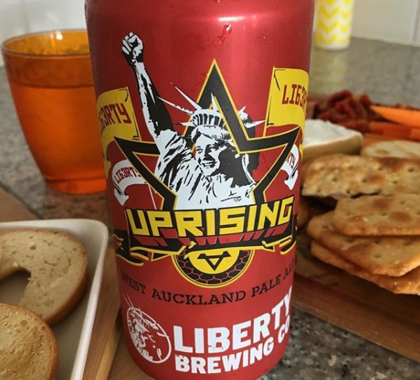 Liberty Uprising West Auckland Pale Ale