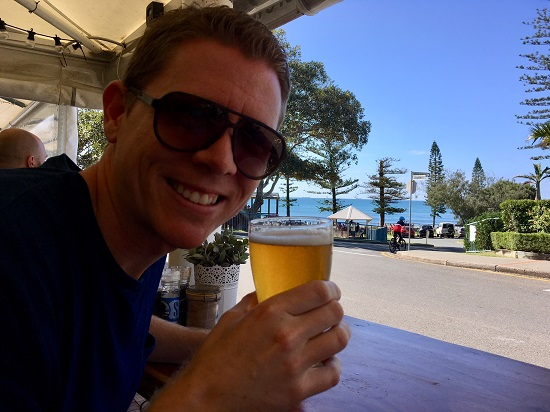 A visit to Moffat Beach Brewing Co.