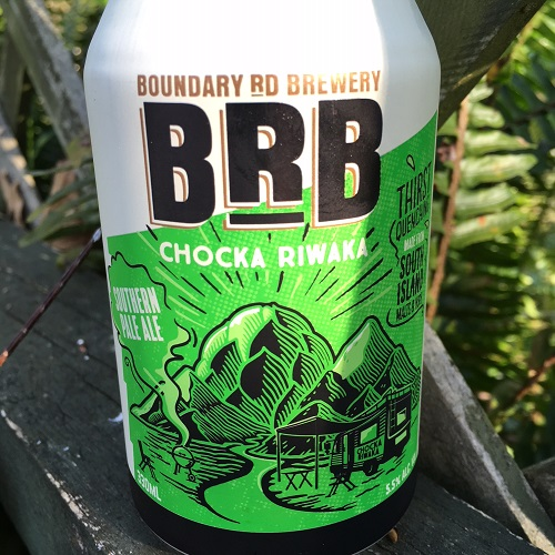 Boundary Road 'Chocka Riwaka' Southern Pale Ale