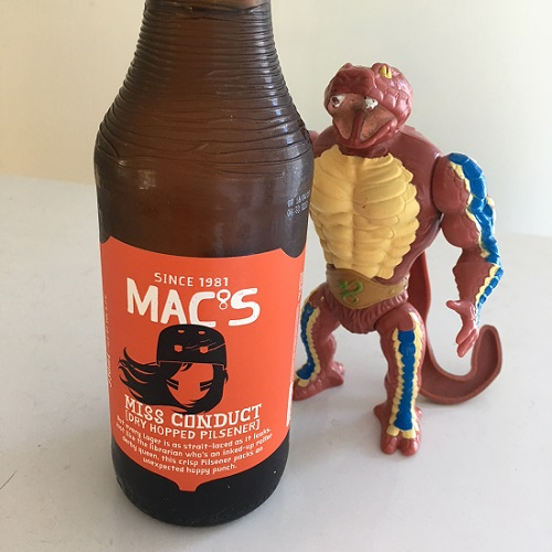 Mac's Miss Conduct Dry Hopped Pilsener Review
