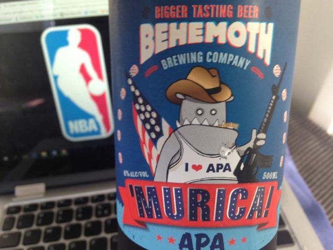 Behemoth Murica beer review