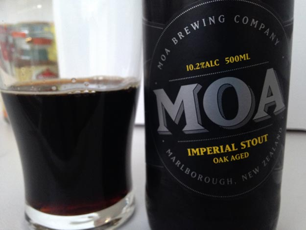 Moa Oak Aged Imperial Stout Review