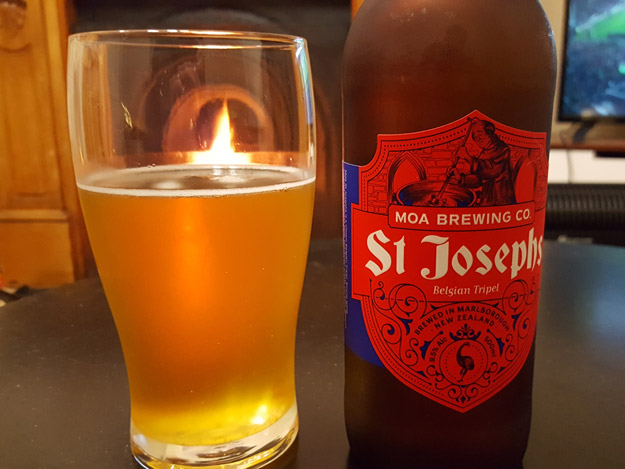 Moa St. Josephs Belgian Tripel Review