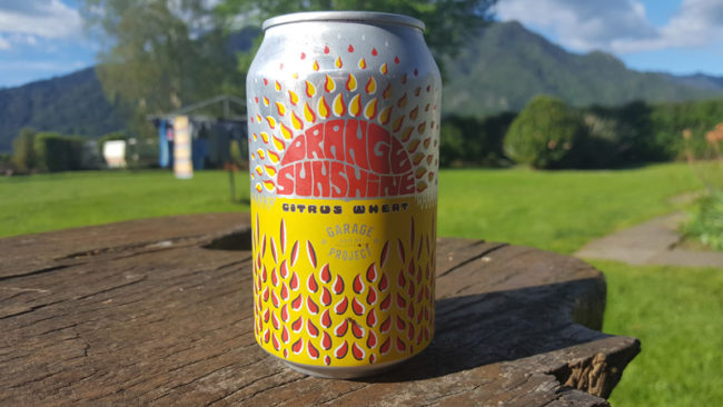 Garage Project Orange Sunshine Citrus Wheat Review