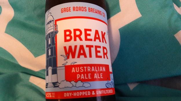 Gage Roads Break Water Aussie Pale Ale Review