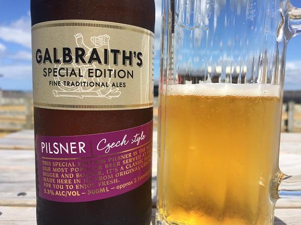 Galbraith's Czech-Style Pilsner Review