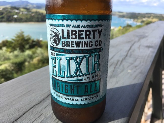 Liberty Brewing 'The Elixer' Bright Ale Review