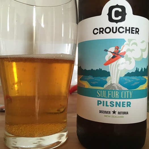 Croucher Sulfur City Pilsner Review