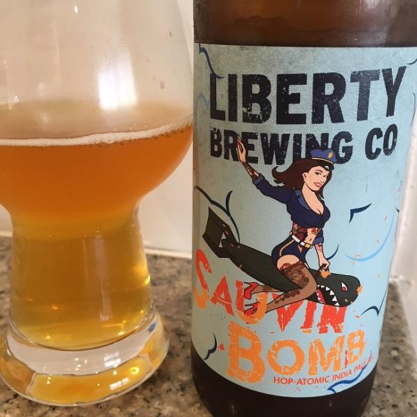 Liberty Sauvin Bomb Hop Atomic IPA Review