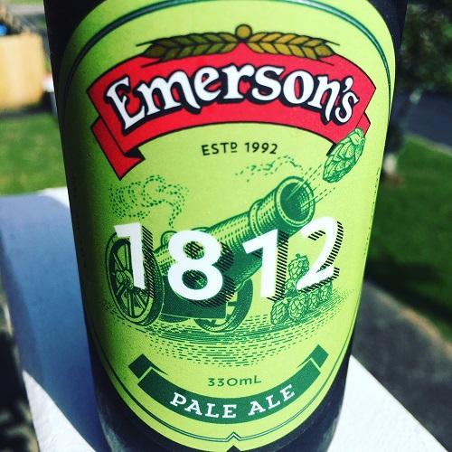 Emerson's 1812 Pale Ale Review