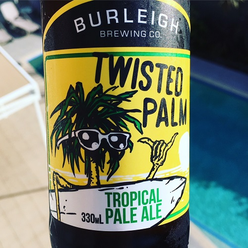 Burleigh Brewing Co. Twisted Palm Beer Review